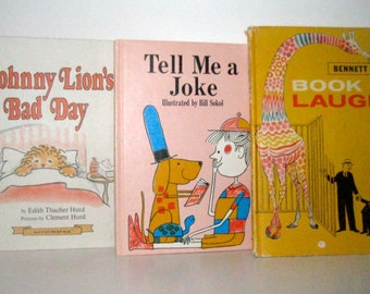 Set of 3 Vintage Childrens Books