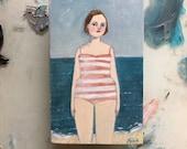 Oil painting portrait - Katrina - Original art