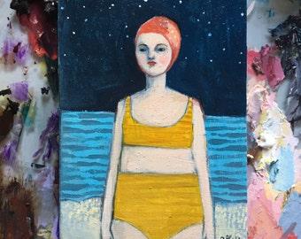 Oil painting portrait - Laura - Original art
