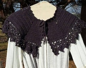 PDF Crochet PATTERN for Afternoon Tea Capelet