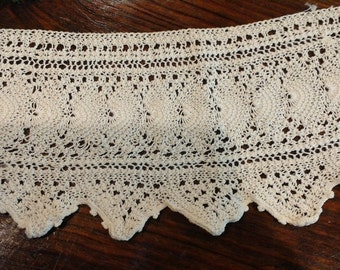 """Vintage Lace - Off White - 24"""" long, 3.5"""" wide All profits go to charity"""
