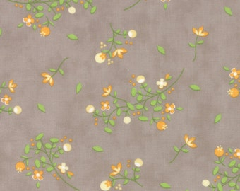 Sundrops - Blossoms in Taupe: sku 29011-24 cotton quilting fabric by Corey Yoder for Moda Fabrics - 1 yard