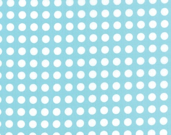 SALE - Gooseberry - Polka Dots in Sky Blue: sku 5013-16 cotton quilting fabric by Lella Boutique for Moda Fabrics - 1 yard