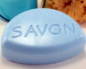 Savon Soap Bar, Homemade Glycerin Soap, 3 Scent Choices