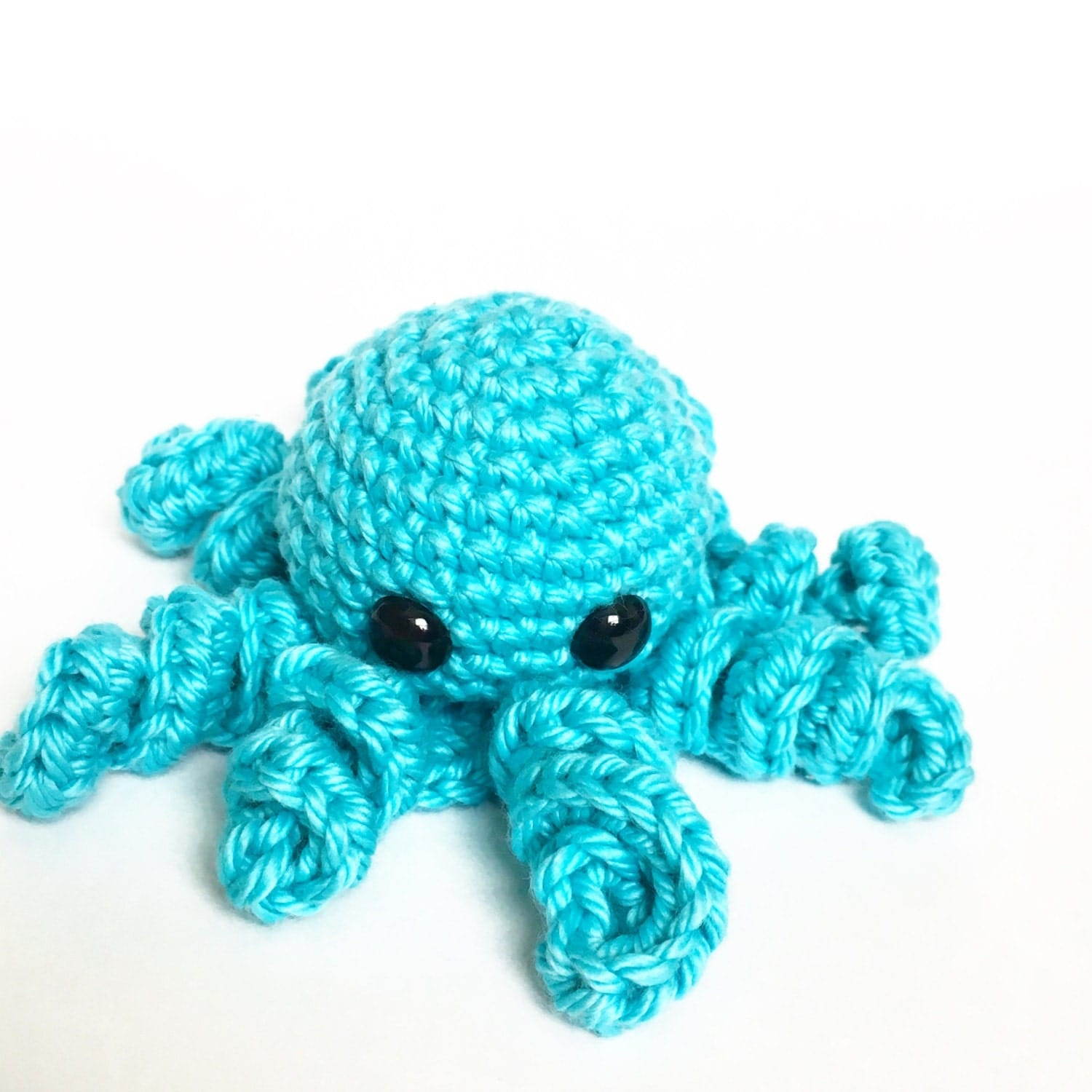 Mini Amigurumi Octopus : Mini Amigurumi Crochet Octopus in Soft by CharissaPrayDesigns