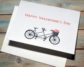 Anywhere with You, Bicycle for Two Valentine's day card