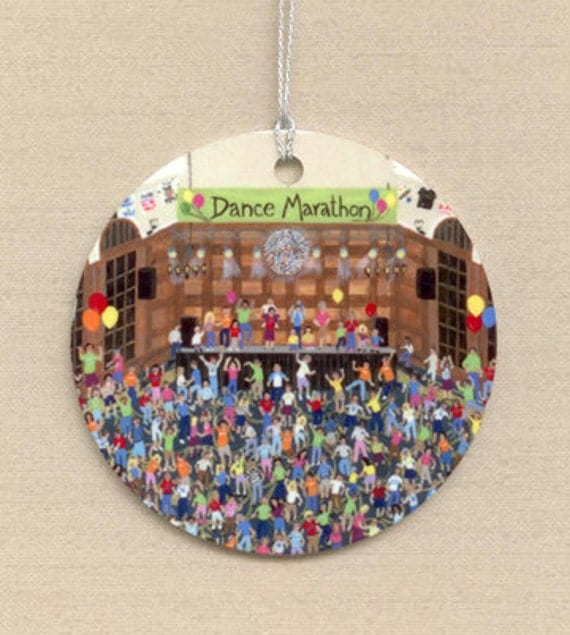 Cancer Fight, Dance Marathon Ornament