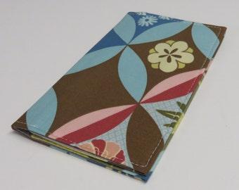 SAMPLE SALE - Checkbook Cover - Ginger Bliss - Amy Butler Fabric