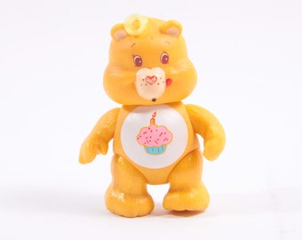 Care Bears Vintage Poseable Birthday Bear Kenner Articulated Toy