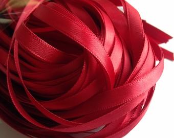 Thin Wedding Favor Tag Ribbons