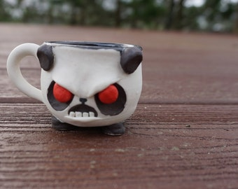 Furious Panda Espresso cup/shot glass