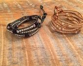 Custom Bracelets for Angela