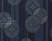 Japanese Fabric Traditional print - indigo - 50cm