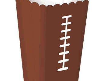 8pc. Football Snack Boxes-NEW
