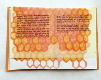 Tell the Bees Informational Letterpress Pamphlet