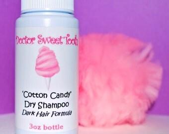 Dry Shampoo Powder for DARK HAIR (You Choose Scent)