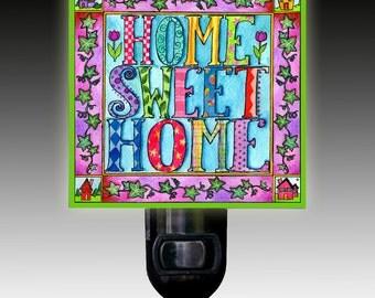 Home Sweet Home Night Light