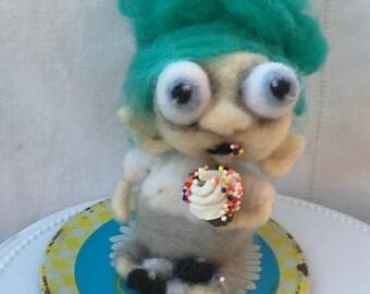 The yummy cupcake