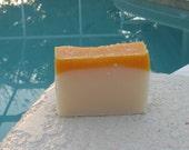 Barefoot Beach Soap  Cold Process Large Vegan  5 oz    buy any 3-6 bars 5.50 Shipping