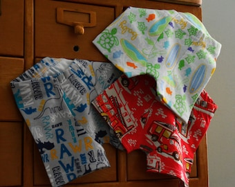 Custom Trio - kids Boxer Briefs, underwear (made to order)
