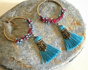 Azure Wanderlust Earrings
