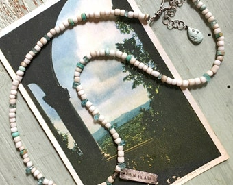 Open Heart Affirmation Necklace