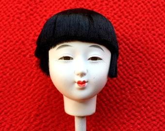Japanese Doll Head Hina Matsuri Doll Festival Girl's Head D11-5 Japanese Doll
