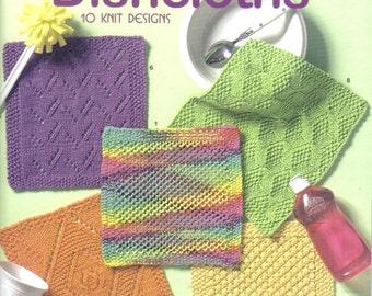 Kitchen Bright Dishcloths ~  Knitting Book