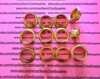 """CC1080WW12 - Brass Candle Cup Inserts - fits 29/32"""" holes - 12 pcs"""