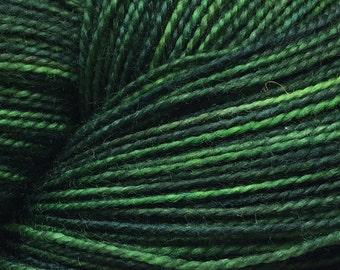 Magic Forest Colorway -  Fingering Weight Yarn-Shawl-Sized