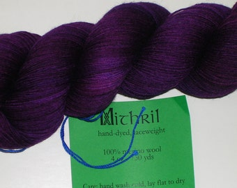 "The Verdant Gryphon ""Mithril"" Lace Weight Yarn"