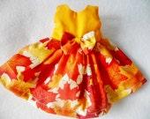CUSTOM ORDER Wellie Wisher Doll Dress and Coat