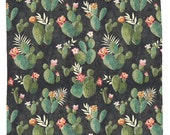 Prickly Pattern, Catcus Shower Curtain