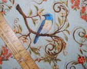 Legacy Studio Nestled in the Branches Birds All Over fabric quilting