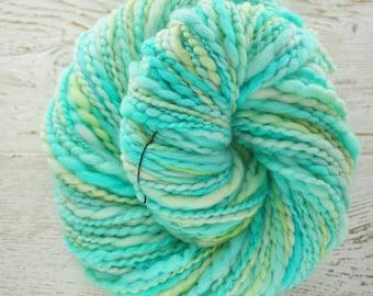 Superfine Merino Bulky Handspun Yarn, Hand Spun Yarn,