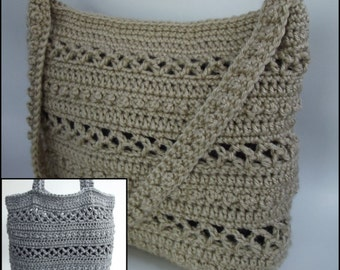 Beads and Diamonds Purse ~ Crochet Pattern