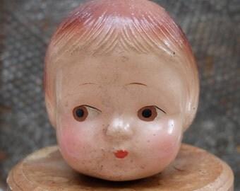 Antique Doll Head Composition
