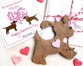 30 Seed Dog Valentines Kids Scottie Dogs Chocolate Lab Black Lab Unique Wedding Favor Cards - Flower Seed Scottish Terriers Westies Tags