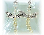 Dragonfly Earrings - Outlander Jewelry -  Dragonfly Jewelry E0902-14