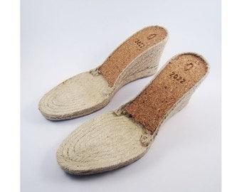 espadrille soles - M12 - 9 cms - 39 to 41 European sizes