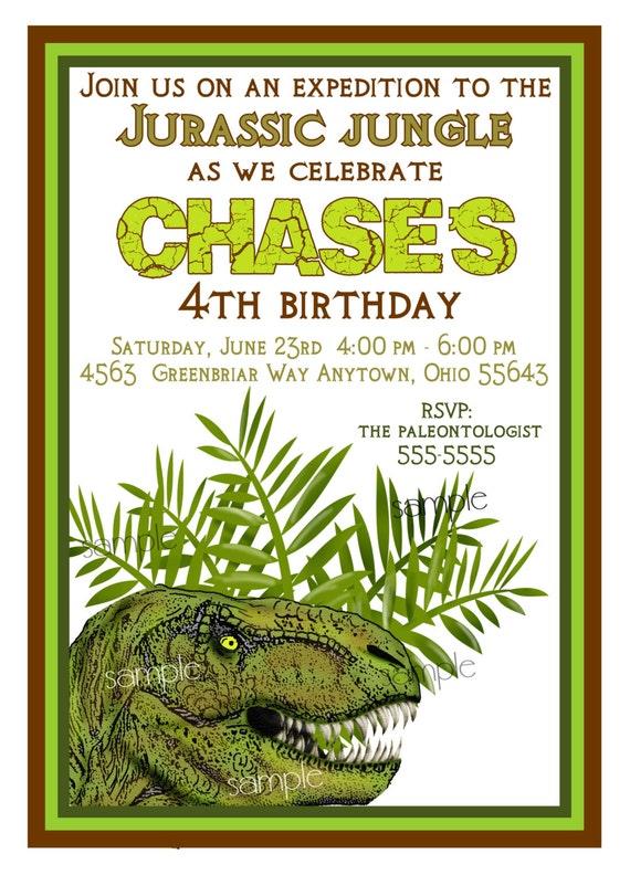 Dinosaur Birthday Invites was awesome invitation example