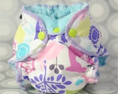 Newborn Hybrid Fitted Cloth Diaper Sewing Pattern
