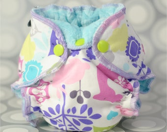 PDF Cloth Diaper Sewing Pattern - Newborn Hybrid Fitted Cloth Diaper