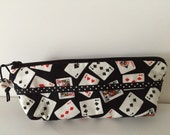 Poker Zippy Bag with Dice Beads