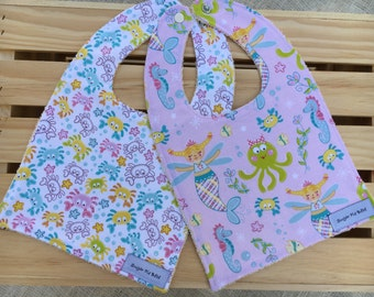 Baby Bibs for Girls / Baby Gifts for Girls / Baby Bibs
