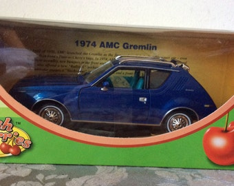 Fresh Cherries 1974 blue Gremlin 1:24 die-cast replica