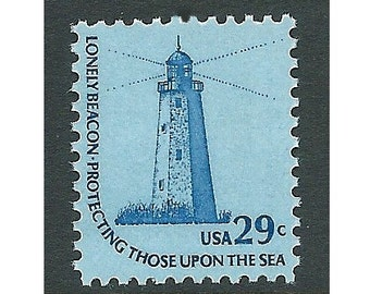 29c Sandy Hook Lighthouse stamps .. Unused US Postage Stamps .. Pack of 10 stamps