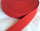 Red belt elastic,  2 inches wide
