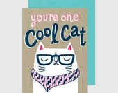 Everyday Card - Cool Cat