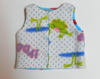 Size 6 mos Fleece Vest